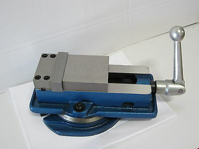 "3"" precision machine vise w/swivel base, lock down type"
