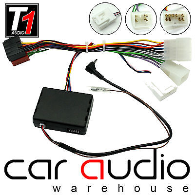 Toyota Avensis 2001 On Car CLARION Stereo Steering Wheel Interface Adapter Kit