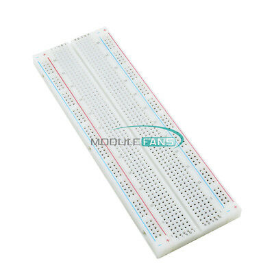 10PCS MB102 Solderless Breadboard 830 Point 2 Buses PCS Bread Board Test Circuit