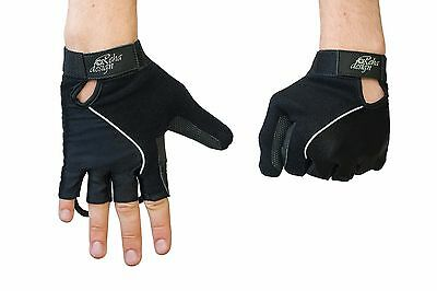 Wheelchair Gloves Gel Palm Reha Design Ultra Lite High Tech Black or Orange