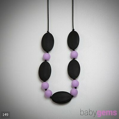 Silicone Teething Necklace Jewellery 149 BPA Free