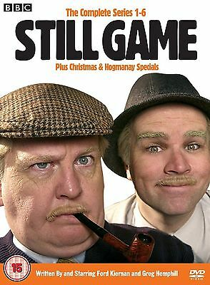 STILL GAME - Complete Season 1 2 3 4 5 6 + Specials Collection Box (NEW DVD)