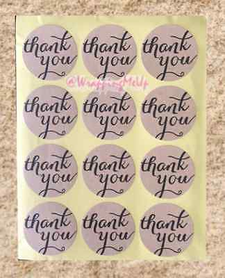 240 THANK-YOU Stickers, High Quality, 20 sheets, Award/Recognition Stickers