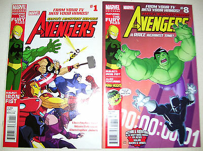 (2) Marvel Comics AVENGERS Earths Mightiest Heroes 2012 #1 & 8