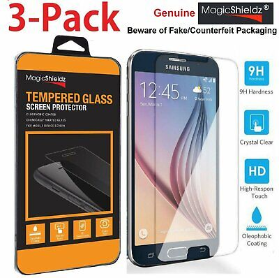 MagicShieldz® Genuine Tempered Glass Screen Protector for Samsung Galaxy S6
