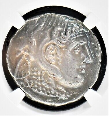 Aphrodite - Ancient Greek Silver Tetradrachm Of Ptolemy I Soter (323- 305 B.c.)