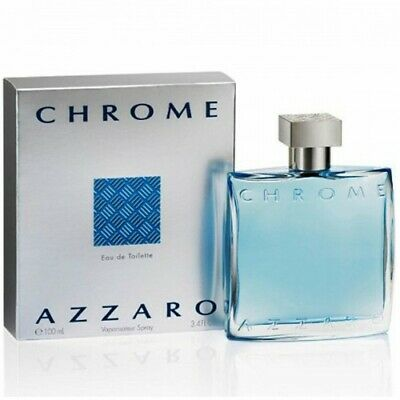 AZZARO CHROME EAU DE TOILETTE 100ml VAPORISATEUR SPRAY NEUF BLISTER AUTHENTIQUE