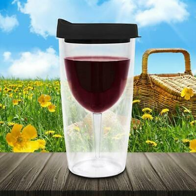 Wine Spill-Proof Sippy Cup – Outdoor Chilled Alcohol Cold Camping Travel Outdoor