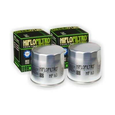 HI-FLO OIL FILTER 2 PACK FOR BMW R1150 GS Adventure R Rockster RS RT K1200 LT SE