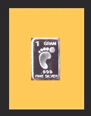 New 1 gm. Whason Mint .999 silver bar -   The Padfoot    ++ADD-ONs allowable !