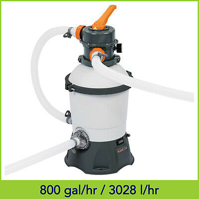 530GPH Bestway Flowclear Sand Filter Pump 58397 For Above Ground Swimming Pools