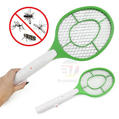 2x NEW Electric Fly Swatter Mosquito Bug Insect Kill Zapper Racket RANDOM COLOR
