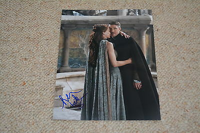 AIDAN GILLEN signed Autogramm 20x25 cm In Person GAME OF THRONES Littlefinger