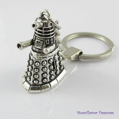 Dr Who Inspired Dalek Keychain Keyring Key Ring Great Gift