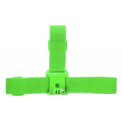 Kitvision Head Strap Mount for Action Cameras Green