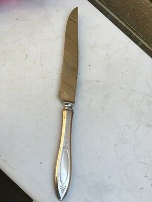 Sheffield silver Handle Carving Knife 34cm