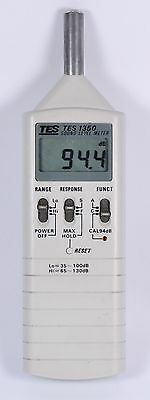 CLEARANCE TES-1350A Sound Level Meter Gauge Noise Tester(35-130DB) #611491