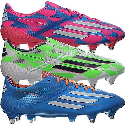 separation shoes 1dab3 5a4c3 Adidas F50 adizero SG Men s football-boots pink white blue additional  sockliners