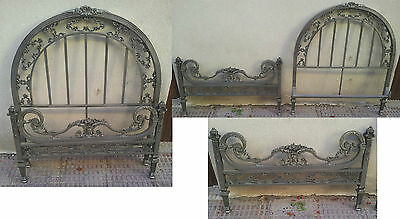 2 Camas Antiguas De Bronce De 90Cm Completas- 2 Antique Brass Beds Full Of 90 Cm