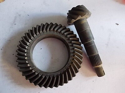 Coppia Conica Fiat 131 Supermirafiori Originale Fiat Ring Pinion Set Genuine