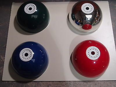 Set Of 3 Metal Bowls For Pool Table Rail Light