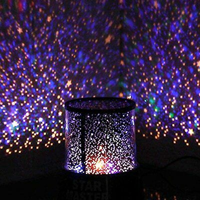 Calming Autism Sensory Toys LED Light Projector Multicolour Sky Star Lamp USB