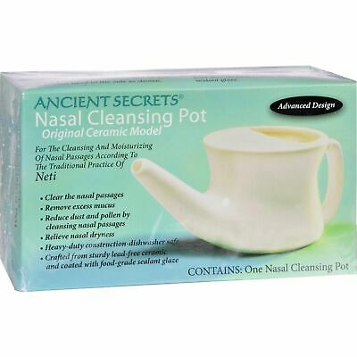 Ancient Secrets Ancient Secrets Nasal Cleansing Pot - 1 Pot 2 Pack