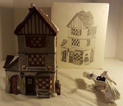 Heritage Collection Department 56 Dickens Village Poulterer