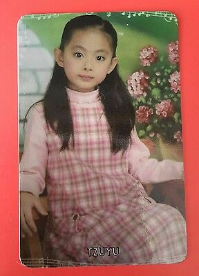 TWICE Tzuyu Official Photocard - Pink Ver. - The Story Begins - 1st Album