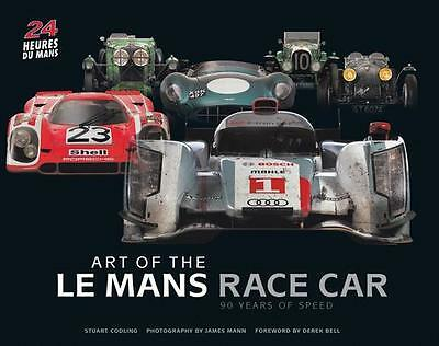 Art of the Le Mans Race Car 90 Years of Speed BOOK FERRARI AUDI BMW PORSCHE ALFA