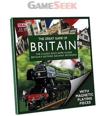 The Great Game Of Britain Travel Edition - Toys Brand New Free Delivery