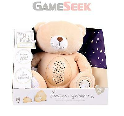 Golden Bear My First Forever Friends Bedtime Lightshow   Free Delivery New