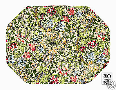 Morris Gallery Golden Lily Quilted Placemat (sold as singles)
