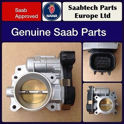 Genuine Saab 9-3 2007-2012 Throttle Body B207 2.0T - Brand New - 93189207