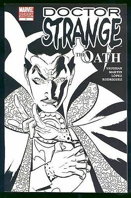 DOCTOR DR STRANGE THE OATH #1 SKETCH VARIANT 1st Nicodemus West
