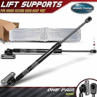 2x Front Hood Lift Supports Shock Struts for Honda Accord 2003-2007 4157