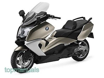 Bmw C 650 Gt Workshop Service Manual C650Gt On Dvd