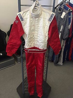 Sparco Monaco Karting Suit White/Red (48)