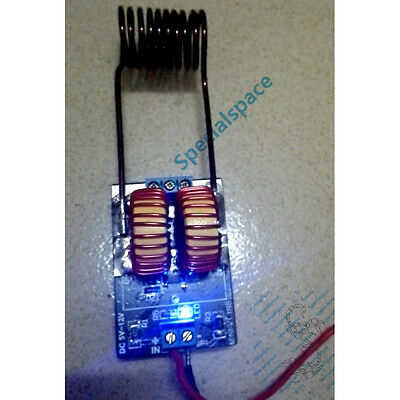 5V-12v ZVS induction heating power supply module tesla Jacob's ladder + coil