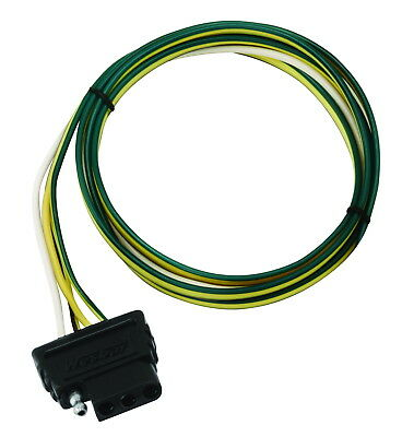 Wesbar 702305 Boat//Utility Trailer 5-Way 4ft Trunk End Wire Harness Connector