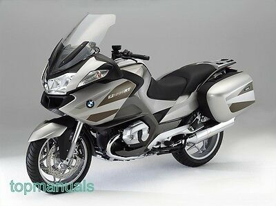 Bmw R 1200 Rt Workshop Service Manual R1200Rt On Dvd