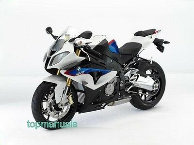 Bmw S 1000 Rr Workshop Service Manual S1000Rr On Dvd