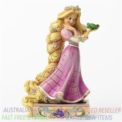Jim Shore Disney Traditions - Rapunzel and Pascal Loyalty and Love Figurine figu