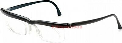 Adlens Emergensee Adjustable Eyeglasses Emergency Varifocal Lens Glasses EM02-BK