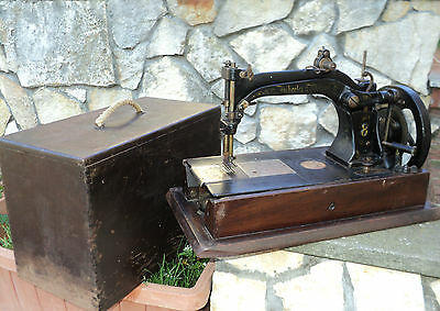 Antica Macchina Da Cucire  Wheeler&wilson N 8  Alte Nahmaschine Sewing Machine