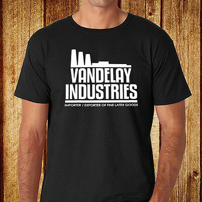 VANDELAY INDUSTRIES SWEATSHIRT PULLOVER Sign Insignia Logo Company Seinfeld