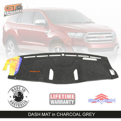 DASH MAT FORD EVEREST Titanium - Trend - 06/2015 to CURRENT in Charcoal DM1403