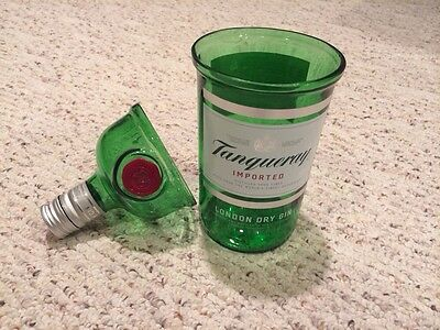 Tanqueray Gin Glass Tumbler ,.    one Liter