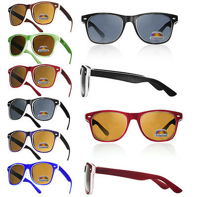Polarized Sunglasses Men Women Unisex UV400 Driving Square Glasses