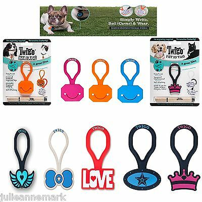 TWIGO PET ID TAGS GREAT NEW INVENTION (Watch The video)